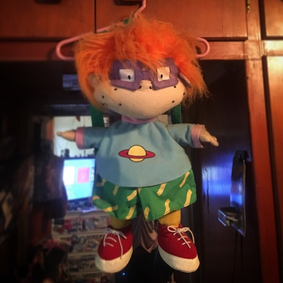 Rugrats character Chucky backpack